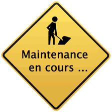 Maintenance du site